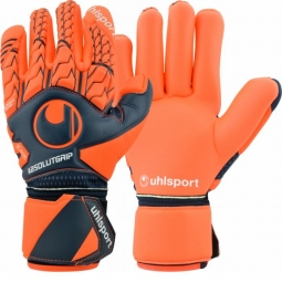 Uhlsport Next Level Absolutgrip Finger Surround - Navy/Fluo Red mRY-0000030